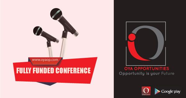 Fully Funded Conference 2019