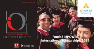 Funded MPOWER International Scholarships 2019