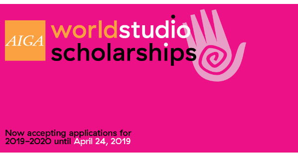 AIGA Worldstudio Scholarships
