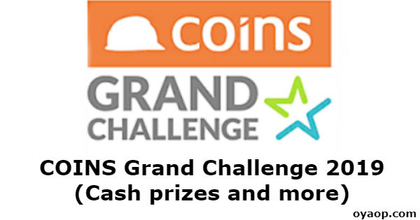 COINS Grand Challenge 2019 (Cash prizes and more)