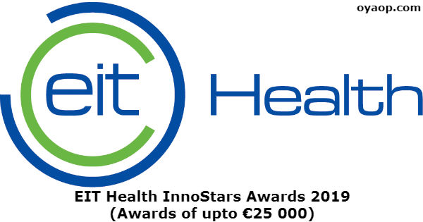 EIT Health InnoStars Awards 2019 (Awards of upto €25 000)
