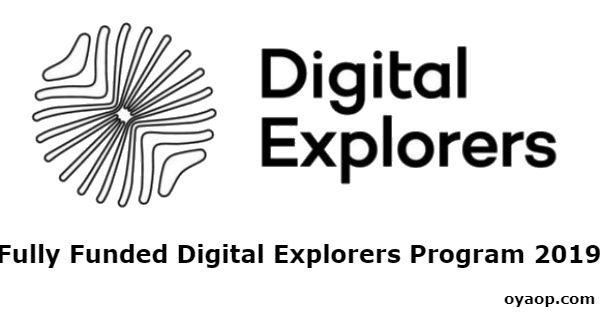 Fully Funded Digital Explorers Program 2019