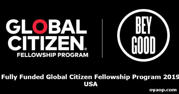 Fully Funded Global Citizen Fellowship Program 2019 in USA
