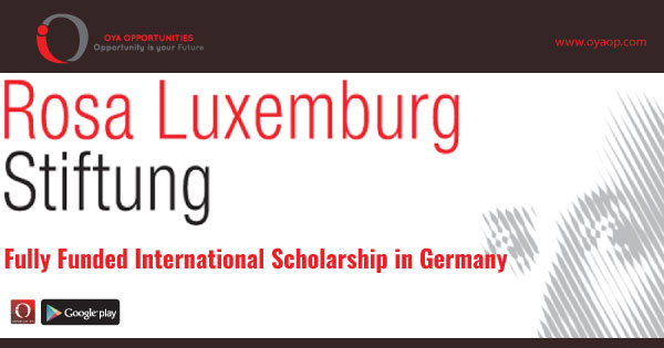 Fully Funded International Scholarship in Germany