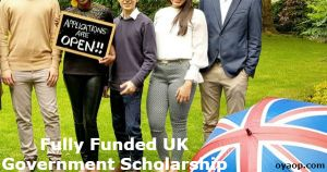 Fully Funded UK Government Scholarship