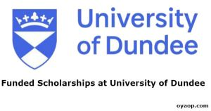 Funded Scholarships at University of Dundee