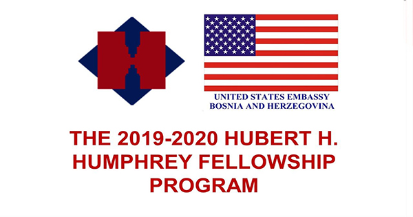 Hubert H. Humphrey Fellowships in US, 2020