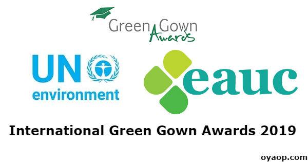 International Green Gown Awards 2019