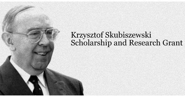 Krzysztof Skubiszewski Scholarship