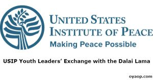 USIP Youth Leaders' Exchange with the Dalai Lama