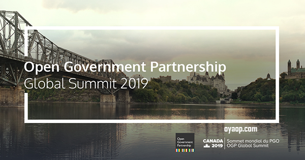 Open Government Partnership Global Summit in Canada