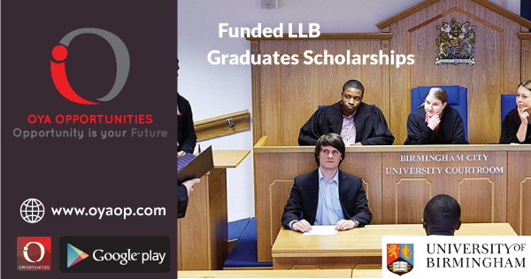 Funded LLB Graduates Scholarships for International Student