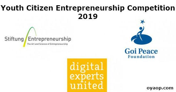 Youth Citizen Entrepreneurship Competition 2019