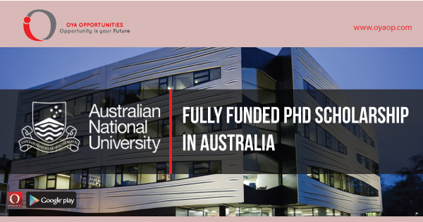 Fully Funded Phd Scholarship in Australia