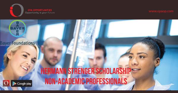 Hermann Strenger Scholarship for Non-Academic Professionals
