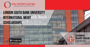 London South Bank University International Merit Scholarships