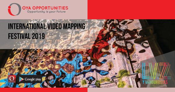 Luz Y Vangaurdia presents International Video Mapping Festival 2019