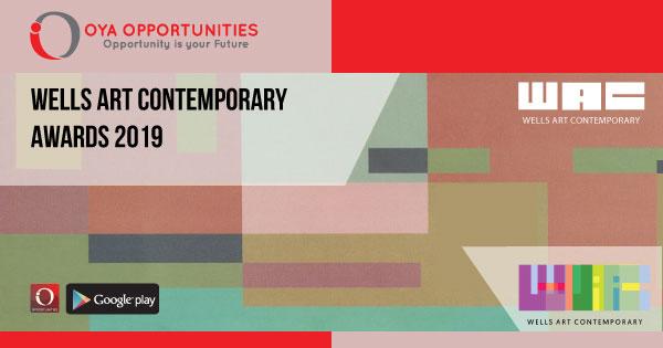 Wells Art Contemporary Awards 2019