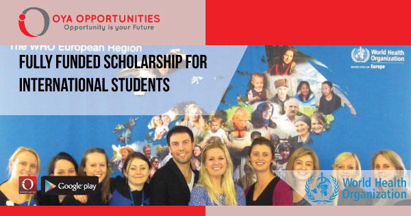 World Health Organization Internship for International Students