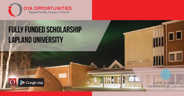 Fully Funded Lapland University Scholarship