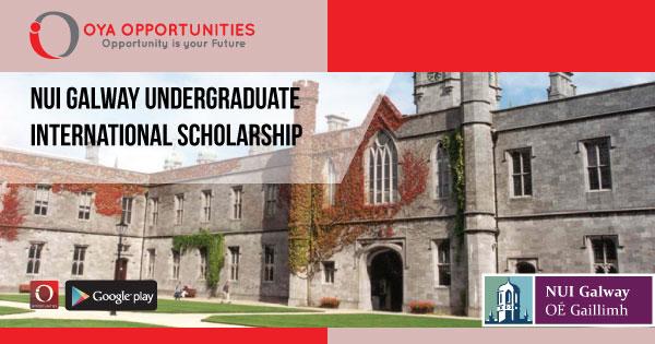 NUI Galway Undergraduate International Scholarship
