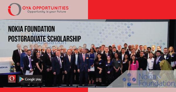 Nokia Doctoral Scholarships in Finland