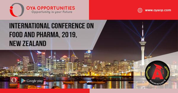 International Conference on Food and Pharma