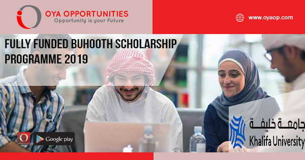 Fully-Funded-Buhooth-Scholarship-Programme-2019