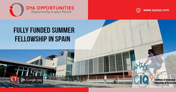 Fully Funded Summer Fellowship in Spain