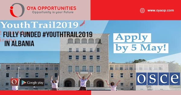 Fully Funded #YouthTrail2019 in Albania
