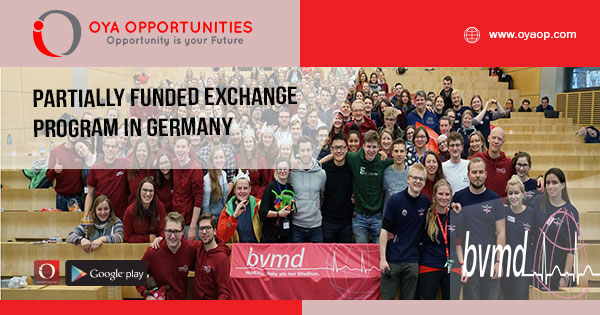 Partially Funded Exchange Program in Germany