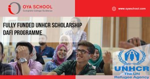 Fully Funded UNHCR Scholarship DAFI Programme