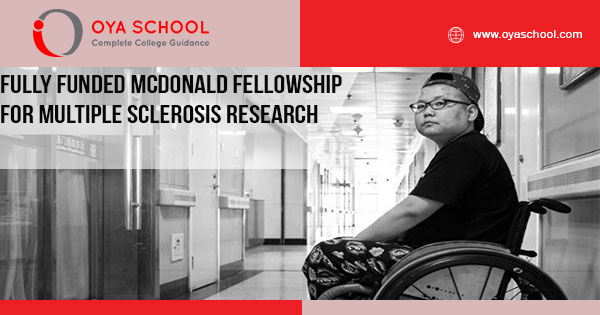 Fully Funded McDonald fellowship for multiple sclerosis research