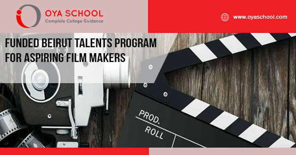 Fully Funded Beirut Talents Program for aspiring film makers