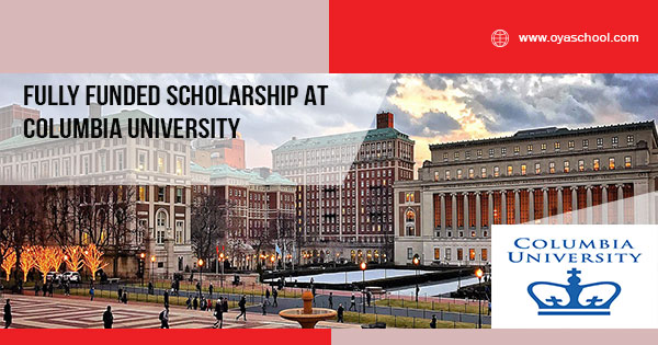 Fully Funded Undergraduate Degree at Columbia