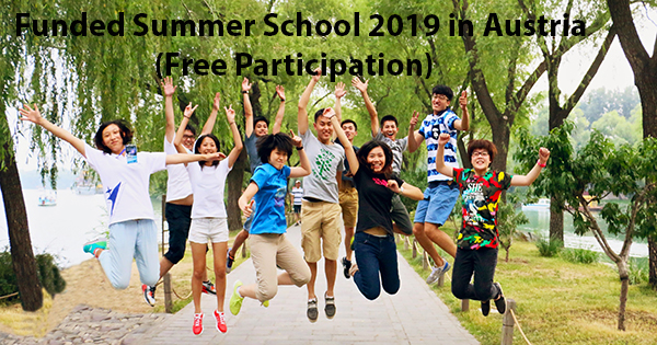 Funded Summer School 2019 in Austria (Free Participation)
