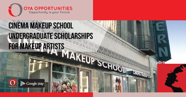 Cinema Makeup School Undergraduate Scholarships for MakeUp Artists