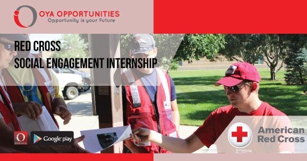 Red Cross Social Engagement Internship