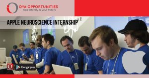 Apple Neuroscience Internship