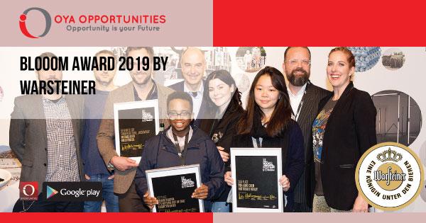 Bloom Award 2019: Warsteiner