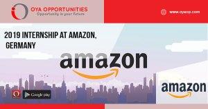 2019 Internship at Amazon, Germany