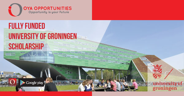 Fully Funded University of Groningen Scholarship