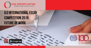 ILO International Essay Competition 2019- Future of Work