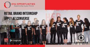 Retail Brand Internship | Apply at Converse