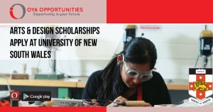 Arts & Design Scholarships | Apply at University of New South Wales