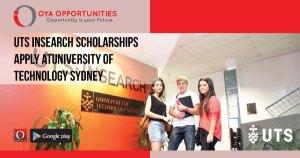 UTS Insearch Scholarships | Apply at University of Technology Sydney