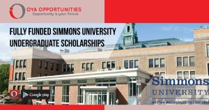 Fully Funded Simmons University Undergraduate Scholarships