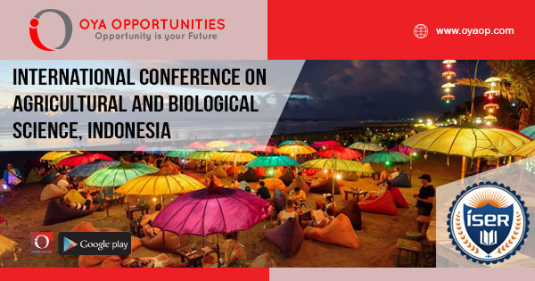 International Conference on Agricultural and Biological Science, Indonesia