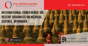 International Conference on Recent Advances on Medical Science, Myanmar