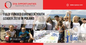 Fully Funded EUROWEEK Youth Leader 2019 in Poland